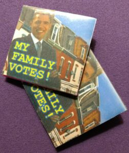 My Family Votes Pin