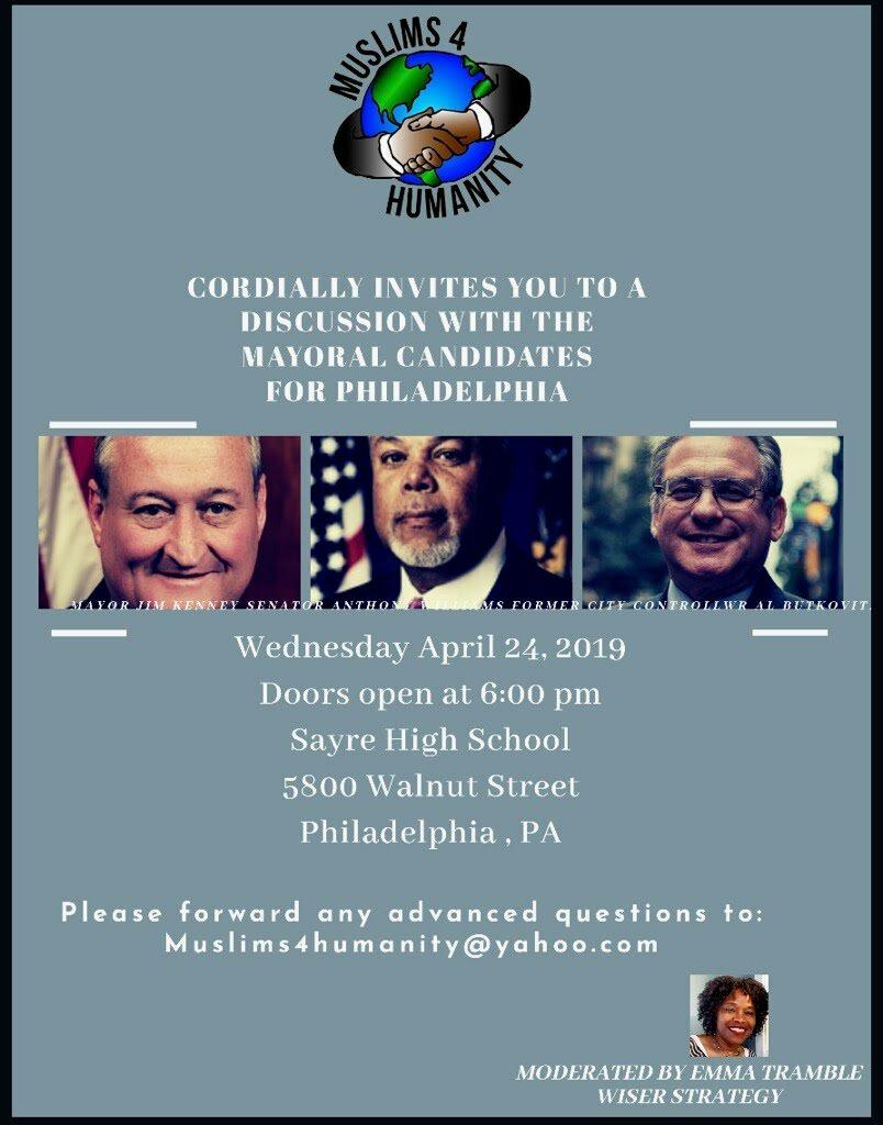 Sayre April 24th - Mayoral Conversation