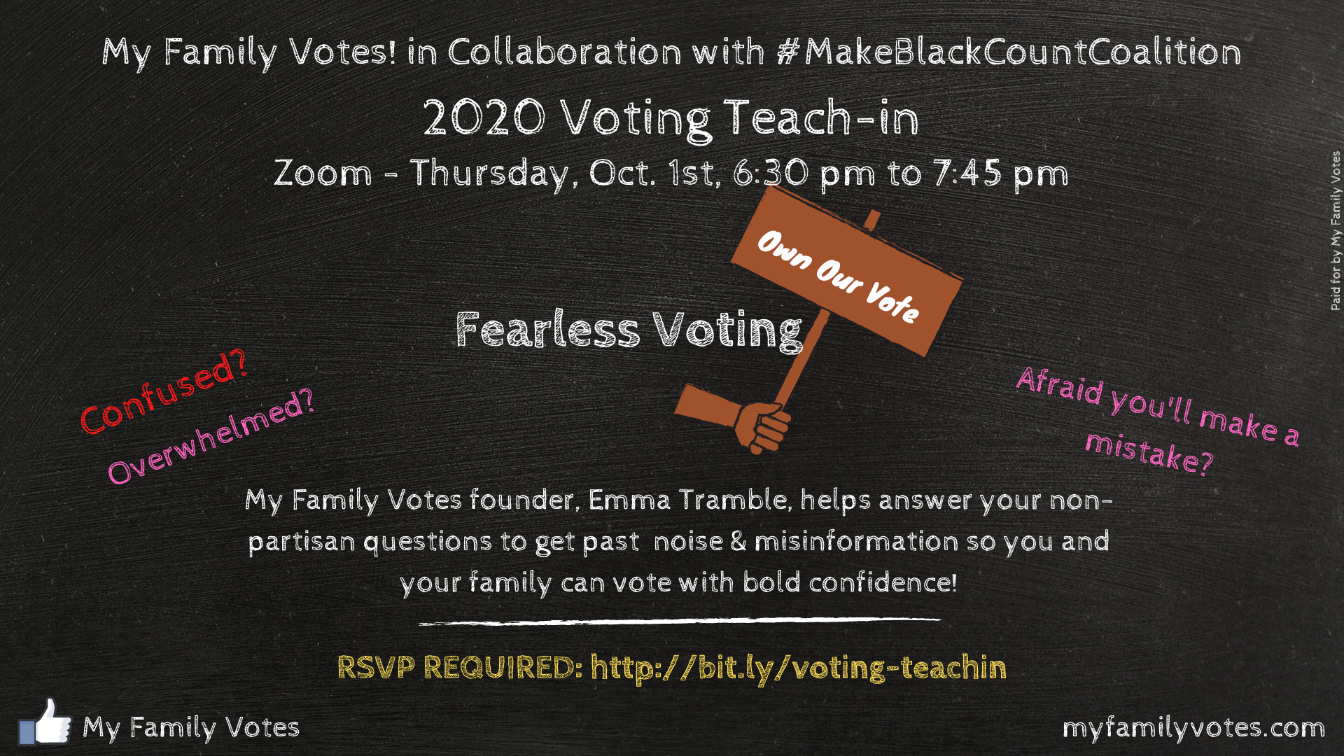 Fearless Voting - Own Our Vote